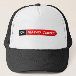 504 - Gateway Timeout Trucker Hat