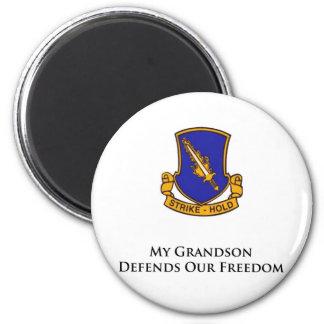 504 Parachute Infantry Regiment 2 Inch Round Magnet