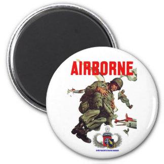 504th  AIRBORNE REGIMENT 2 Inch Round Magnet