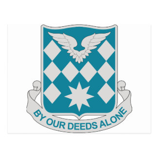 504th Aviation Battalion - By Our Deeds Alone Postcard