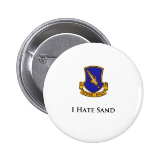 504th- I Hate Sand Pinback Button
