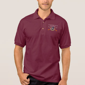 504TH PARACHUTE INFANTRY POLO SHIRT
