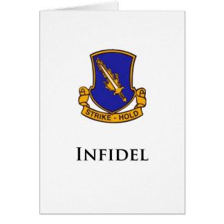 504th PIR- Infidel Card