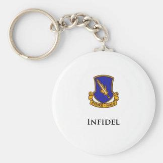 504th PIR- Infidel Keychain