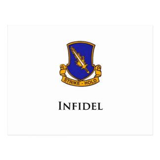 504th PIR- Infidel Postcard