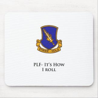 504th PIr- PLF- It's how I Roll Mousepads