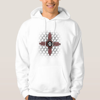 505 fights New Mexico Hoodie