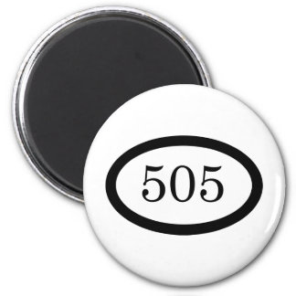505 Parachute Infantry 2 Inch Round Magnet