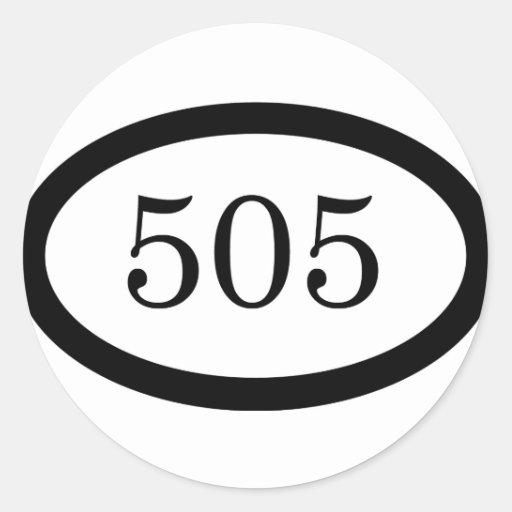 505 Parachute Infantry Classic Round Sticker