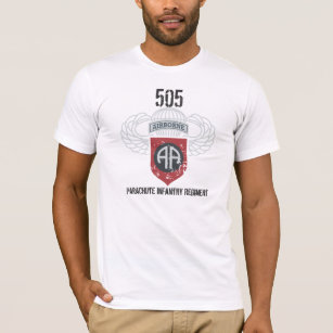 Back Design T-Shirt Master Jump Wings Situen Jumpmaster