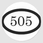 505 Parachute Infantry Round Stickers