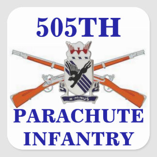505TH PARACHUTE INFANTRY STICKERS