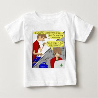 506 forgot homework cartoon baby T-Shirt