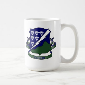 506th Infantry Regiment - 101st Airborne Classic White Coffee Mug