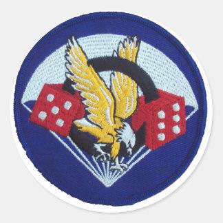 506th Paracaídas Infantry Regimiento Pegatina Redonda