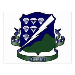506th Parachute Infantry Regiment, 1st Battalion Postcard