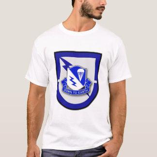 507th Infantry Regiment - Airborne, 1st Bn flash T-Shirt