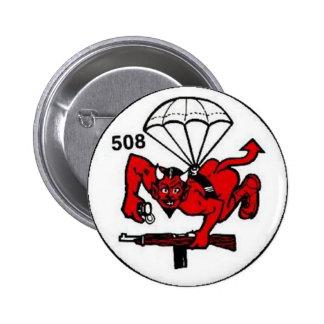 508th PIR Pin Redondo 5 Cm