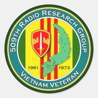 509o RRG - ASA Vietnam Etiquetas Redondas