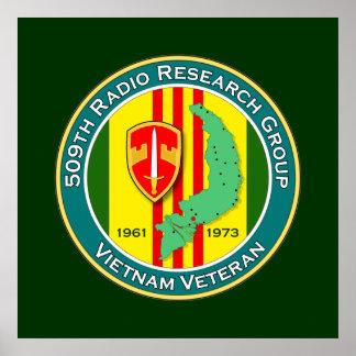 509o RRG - ASA Vietnam Póster
