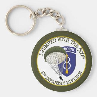 509th Airborne [8th ID] Keychain