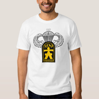 509th Airborne Veteran w/ Jump Wings T Shirts