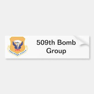 509th Bomb Group Insignia Car Bumper Sticker