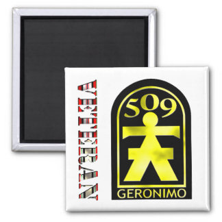 509th Geronimo OEF/OIF Magnet