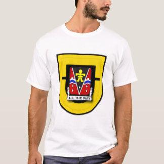 509th Infantry Regiment - Airborne, 1st Bn flash T-Shirt