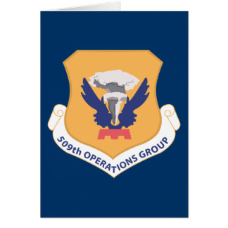 509th Operations Group Card