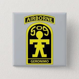 509th Parachute Infantry Regiment (PIR) - GERONIMO Pinback Button
