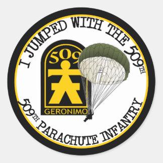 509th PIR Classic Round Sticker
