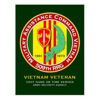 509th RRG 3 - ASA Vietnam Postcard