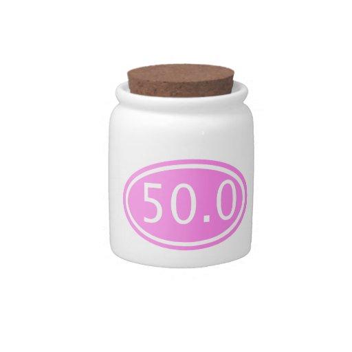 50.0 CANDY JAR