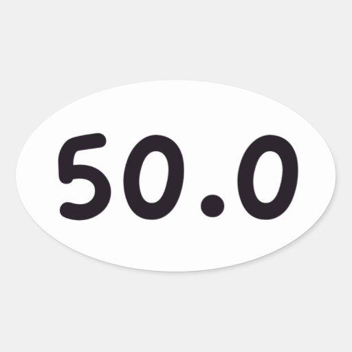 50,0 COLCOMANIAS ÓVAL