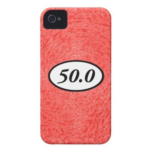 50,0 iPhone 4 Case-Mate CÁRCASAS