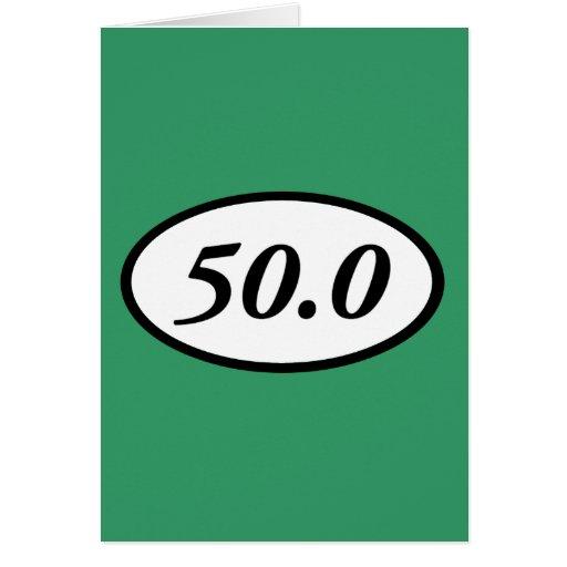 50,0 TARJETA