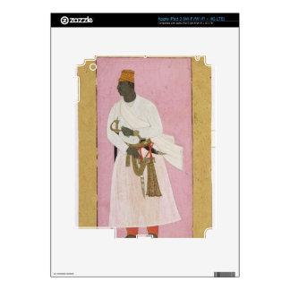 50.14/8 Retrato del ámbar de Malik, inscrito en De iPad 3 Pegatina Skin