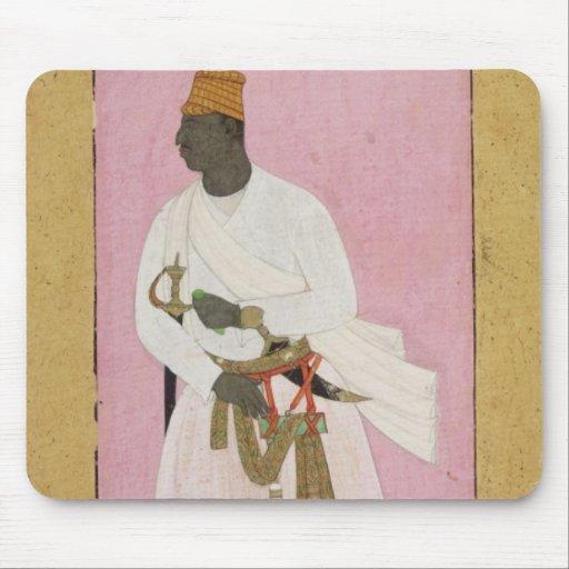 50.14/8 Retrato del ámbar de Malik, inscrito en De Tapete De Raton