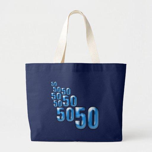 50 50 50 CANVAS BAG