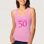 50.a camisa fabulosa del cumpleaños 50