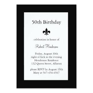 50.a invitación del cumpleaños de Fleur de Lise