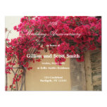 50.a invitación floral del aniversario de boda invitación 10,8 x 13,9 cm