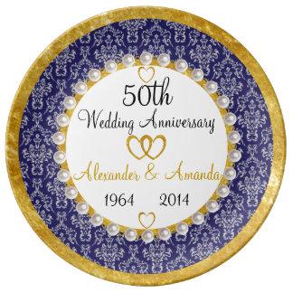 50.a placa personalizada de la porcelana del platos de cerámica
