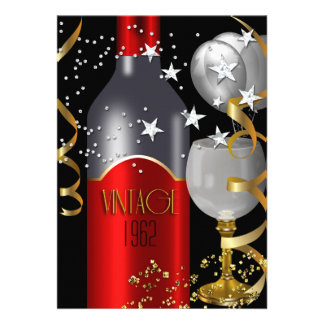 50 a plata del oro del negro del vino rojo del cum comunicado