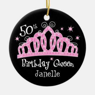 50.a reina DK del cumpleaños de la tiara Adorno