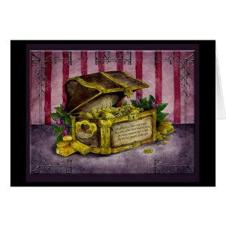 50.a tarjeta de regalo de oro del aniversario de