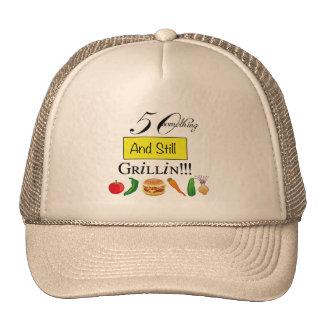 50 algo y aún casquillo de la bola de Grillin Gorras