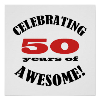 50 and Awesome! Poster