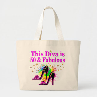 50 AND FABULOUS TOTE BAGS